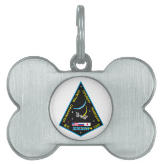 Expedition Crews to the ISS:  Expedition 33 Pet ID Tag