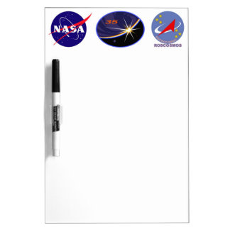 Expedition Crews to the ISS :   Expedition 35 Dry-Erase Board