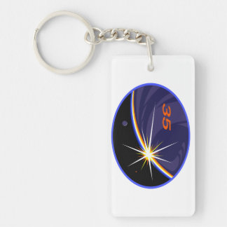 Expedition Crews to the ISS :   Expedition 35 Keychain