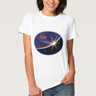 Expedition Crews to the ISS:   Expedition 35 T-Shirt