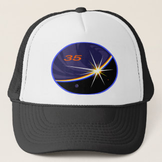 Expedition Crews to the ISS:   Expedition 35 Trucker Hat