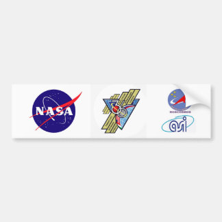 Expedition Crews to the ISS :   Expedition 36 Bumper Sticker