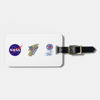 Expedition Crews to the ISS :   Expedition 36 Luggage Tag