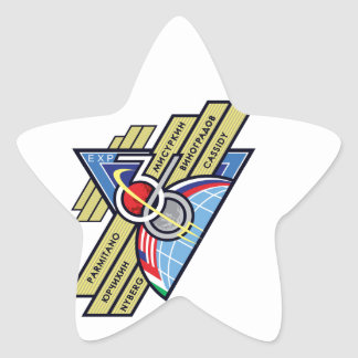 Expedition Crews to the ISS :   Expedition 36 Star Sticker