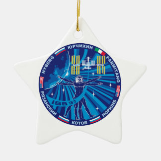 Expedition Crews to the ISS :   Expedition 37 Ceramic Ornament