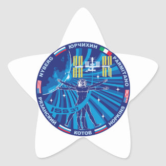 Expedition Crews to the ISS :   Expedition 37 Star Stickers