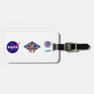 Expedition Crews to the ISS:  Expedition 38 Bag Tag