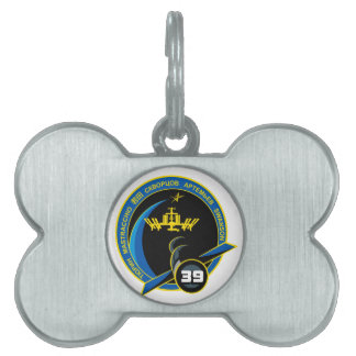 Expedition Crews to the ISS:   Expedition 39 Pet ID Tag