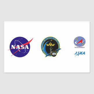 Expedition Crews to the ISS:   Expedition 39 Rectangular Sticker