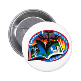 Expedition Crews to the ISS:  Expedition 3 Button