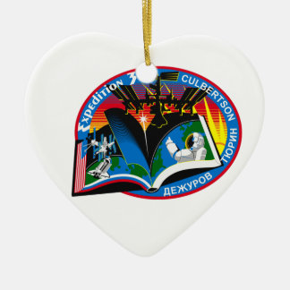 Expedition Crews to the ISS:  Expedition 3 Ceramic Ornament