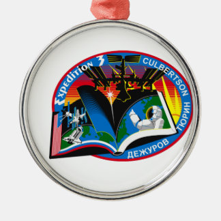 Expedition Crews to the ISS:  Expedition 3 Christmas Tree Ornament