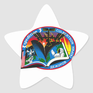 Expedition Crews to the ISS Expedition 3 Star Sticker