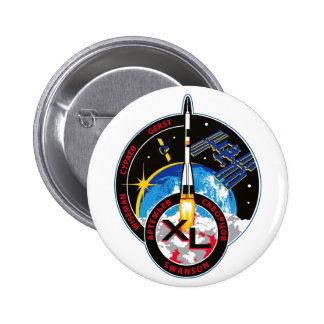 Expedition Crews to the ISS:   Expedition 40 Pinback Buttons