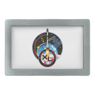 Expedition Crews to the ISS:   Expedition 40 Rectangular Belt Buckle