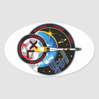 Expedition Crews to the ISS:   Expedition 40 Oval Stickers