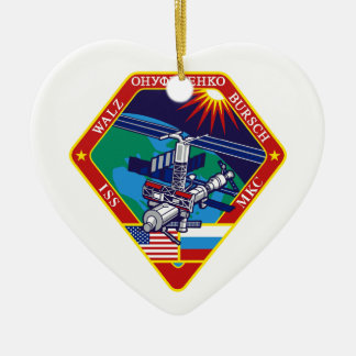 Expedition Crews to the ISS:  Expedition 4 Ceramic Ornament
