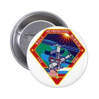 Expedition Crews to the ISS:  Expedition 4 Pinback Button