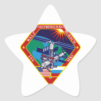 Expedition Crews to the ISS Expedition 4 Star Sticker