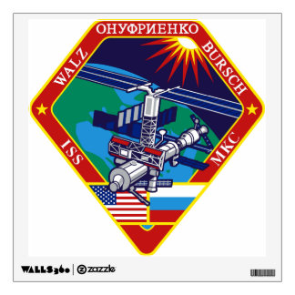 Expedition Crews to the ISS:  Expedition 4 Wall Sticker