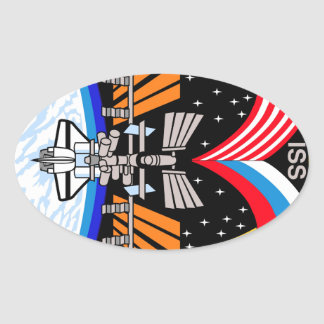 Expedition Crews to the ISS:  Expedition 5 Oval Sticker