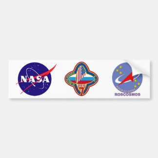 Expedition Crews to the ISS:  Expedition 7 Bumper Sticker