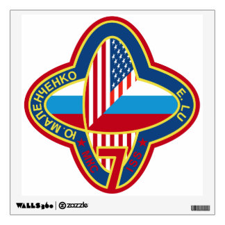 Expedition Crews to the ISS:  Expedition 7 Wall Decal