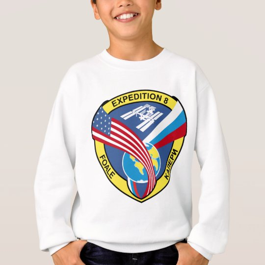 Expedition Crews to the ISS:  Expedition 8 Sweatshirt