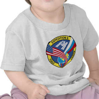 Expedition Crews to the ISS:  Expedition 8 Tees