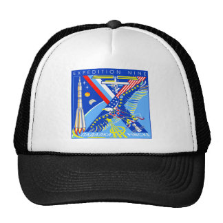 Expedition Crews to the ISS:  Expedition 9 Trucker Hat