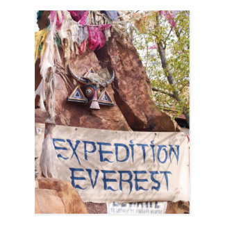 Expedition Everest Post Card