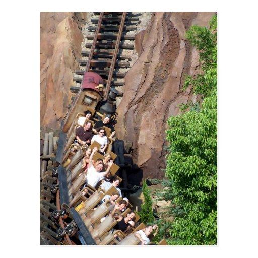 Expedition Everest Roller Coaster Postcards