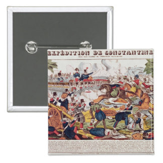 Expedition in Constantine Pinback Buttons