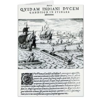 Expedition of Thomas Cavendish Card