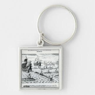 Expedition of Thomas Cavendish Keychain