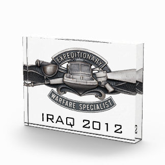 Expeditionary Warfare Specialist Acrylic Award