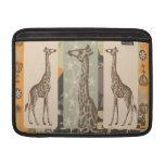 Expeditiontees Giraffa Camelopardalis MacBook Sleeve