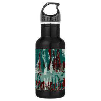 Expeditiontees Gorrilla Walking Stainless Steel Water Bottle