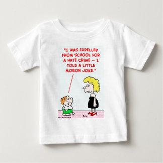 expelled school little moron joke baby T-Shirt