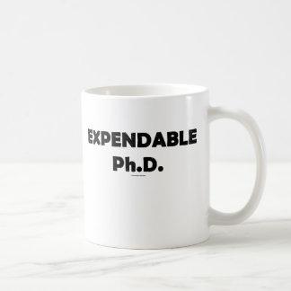 Expendable PhD Mug