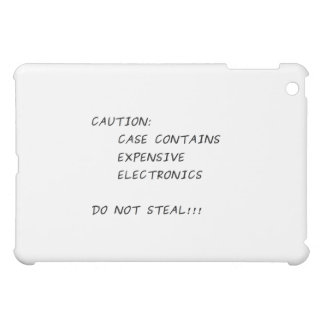 Expensive Electronics Inside iPad Mini Cases