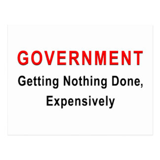 Expensive Government Postcard