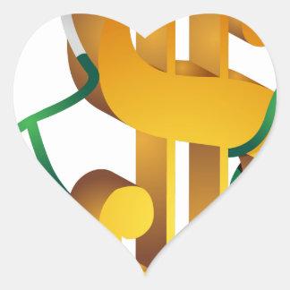 Expensive Healthcare Financials Icon Heart Sticker