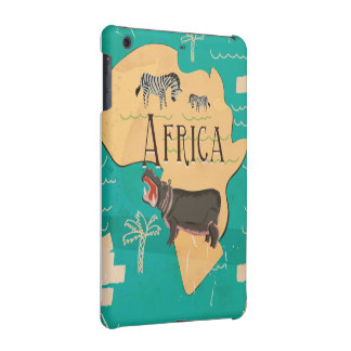 Experience Africa Vintage Travel Poster iPad Mini Case