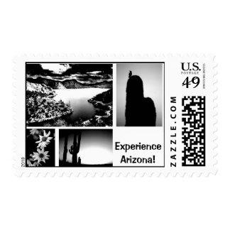 Experience Arizona! Postage Stamp