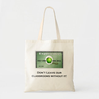 Experience - Don't leave our classrooms without it Bag