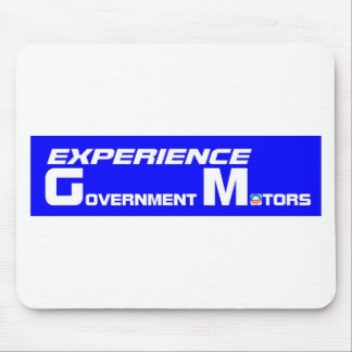 Experience Government Motors Mouse Pad