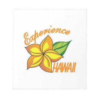 Experience Hawaii Memo Pad