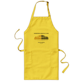 Experience Mental Flow Play Chess (Chess Set) Long Apron