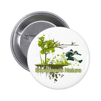Experience Nature 2 Inch Round Button